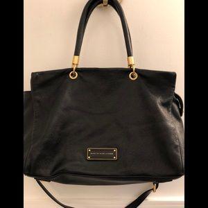 MARC by MARC JACOBS-EUC-Black Tote Leather Handbag